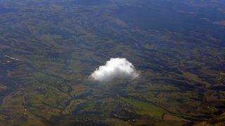Wolke - Wolke, Wölkchen, klein, weiss