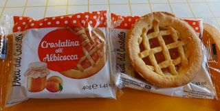 Gebäck - crostatina, albicocca, Gebäck, italienisch