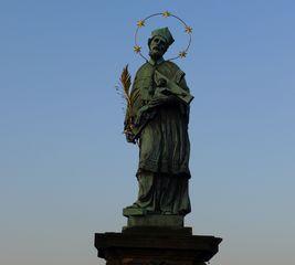 Karlsbrücke Prag  #2 - Karlsbrücke, Prag, Heiligenfigur