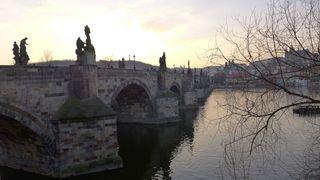 Karlsbrücke Prag  #3 - Prag, Brücke, Moldau, Karlsbrücke, Heiligenfiguren