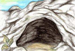 Eingang zu einer Höhle - Höhle, Höhleneingang, Eingang, Geografie, Geologie, Hohlraum, Gestein, Schreibanlass
