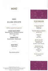 Speisekarte #2 - türkisch - Speisekarte, Menue, Menü, Auswahl, Übersicht, Produkte, Speisen, Preise, Gastronomie, Verzeichnis