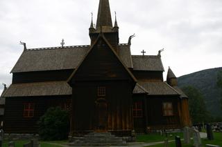 Stabkirche in Lom, Norwegen - Stabkirche, Norwegen, Holzbau, Architektur, Christentum, Wikinger, Religion, Touristenattraktion