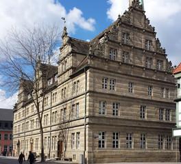 Hameln Hochzeitshaus   - Renaissance, Giebel, Hochzeitshaus, Weserrenaissance, Süntelsandstein, Hameln