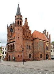 Tangermünde - Rathaus #4 - Rathaus, Backsteingotik, Backstein, Gotik