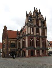Tangermünde - Rathaus #2 - Rathaus, Backsteingotik, Backstein, Gotik