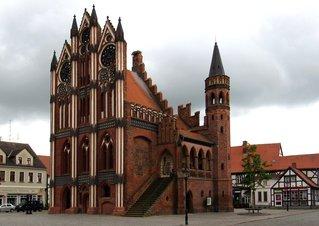 Tangermünde - Rathaus #3 - Rathaus, Backsteingotik, Backsein, Gotik