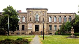 Wolfenbüttel - Herzog August Bibliothek - Bibliothek, Herzog August, Wolfenbüttel, berühmt, Mittelalter, Evangeliar, Bücher, Wissen, Bauwerk