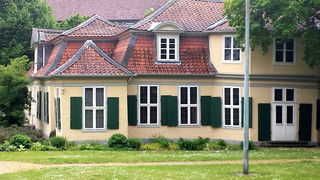 Wolfenbüttel - Lessinghaus - Wolfenbüttel, Haus, Lessing, Dichter, Wohnhaus, Bibliothekar, Gebäude