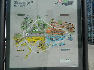 plan La Défense - Frankreich, Paris, La Défense, plan, Stadtplan