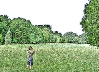 Naturbeobachtung #3 - Sommer, Wiese, Kind, sehen, beobachten, schauen, Natur, Naturbeobachtung, Sachunterricht, Forscher, forschen, erforschen, klein, neugierig, wissbegierig, Wissenserwerb