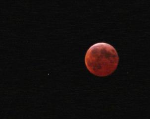 Mondfinsternis #2 - Mond, Mondfinsternis, Erdschatten, Optik, Licht und Schatten, Physik, Geografie
