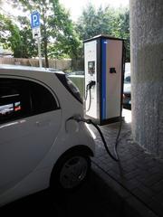 Elektromobilität: Ladesäule #4 - E-Mobil, elektrisch, Elektromobilität, Elektroauto, Elektrizität, Mobilität, Strom, Akku, laden, Stecker, Chademo, Gleichstrom, Wechselstrom
