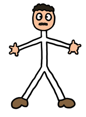 Strichmännchen 4 - Comic, Figur, Mann, Strichmännchen, Piktogramm, Illustration, Legefilm