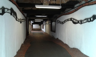 Hundertwasser-Bahnhof Uelzen # 3 - Bahnhof, Tunnel, Kunst, Künstler, Friedensreich, Hundertwasser, Architektur