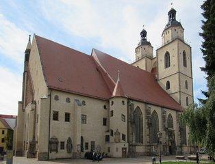 Wittenberg, Stadtkirche St. Marien - Kirche, Mutterkirche, Martin Luther, Reformation, Religion, evangelisch, Lutherstadt, Wittenberg, UNESCO-Welterbe