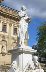Schillerdenkmal #1 - Schiller, Klassik, Klassiker, Literatur, Literat, Dichter, deutsche Literatur, Statue, Standbild, Denkmal