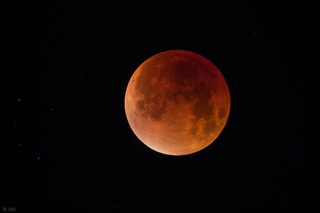 Mondfinsternis vom 28. September 2015 - Mondfinsternis, totale Mondfinsternis, Mond, Astronomie