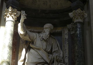 Selfie #1 - selfie, Rom, Statue, Selbstporträt