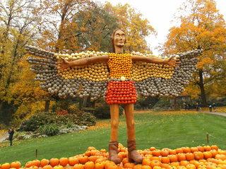 Kürbisdekoration #8 - Kürbis, Kürbisdekoration, Herbst, Icarus