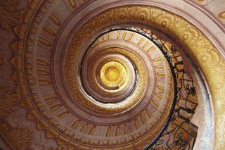Wendeltreppe - Spirale, Treppe, Kurve, Stufe, Treppenhaus, Stiege, Aufgang, Abgang, Höhenunterschied, Treppenabsätze, Wendeltreppe, Perspektive