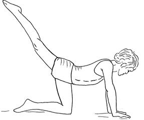 turnen am Boden sw - Boden, turnen, Turner, Sportlerin, Turnerin, Sport, Sportler, Gerätturnen, Grundübung, Kind, Sportler, Zeichnung, Psychomotorik, bewegen, Bewegung, Bodenturnen, Anspannung, anspannen, strecken, Streckung, Knie, Kniewaage, Balken, Bank