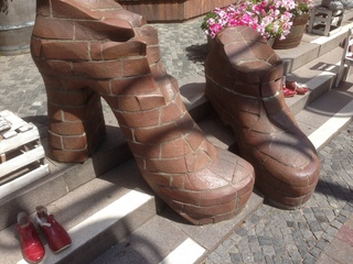 Schuhe - Schuhe, Objekt, Objektkunst