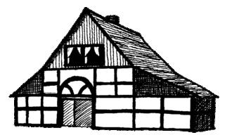 Fachwerkhaus - Haus, Fachwerk, Fachwerkhaus, Thunhof, Fachwerkbauweise, Riegelhaus