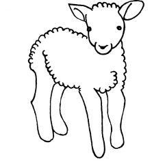 Lamm - Schaf, Lamm, Lämmchen, Osterlamm, Frühjahr, klein, Nutztier, Wolle, Säugetier, Haustier, Vierbeiner, Ostern, Illustration, gestalten, jung, Jungtier