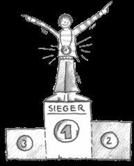 Siegertreppe - Siegertreppe, Urkunde, Urkunden, Sieger, siegen, Podest, Medaille, gewinnen, Gewinner, Ehre, stolz, Sport, Wettbewerb, Erfolg, erfolgreich