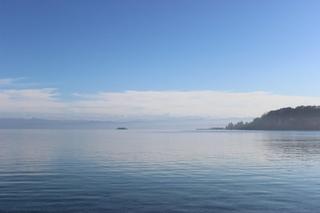Bodensee - Bodensee, See, Wasser, Stille, Ruhe, Meditation, Wolken, Himmel
