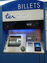Fahrkartenautomat TER - Frankreich, civilisation, distributeur automatique, billet, ticket, Fahrkartenautomat, TER, transport express régional