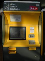 Fahrkartenautomat SNCF - Frankreich, civilisation, distributeur automatique, billet, ticket, Fahrkartenautomat, SNCF