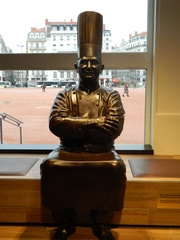 Paul Bocuse - Frankreich, Koch, cuisinier, Lyon, Statue