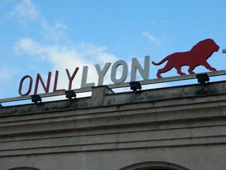 Only Lyon - Frankreich, Lyon, logo, lion, Löwe