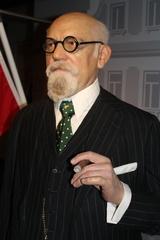 Dr. Karl Renner - Präsident, Österreich, Geschichte, Politiker, Nationalrat, Staatskanzler, Erste Republik, Zweite Republik, Madame Tussauds, Wachsfigur