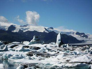 Island - Land zwischen Feuer und Eis - Island, Eisberg, Eisberge, Gletscher, Gletscherlagune, exogene Kräfte