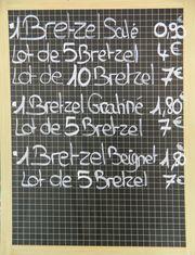 Prix bretzel - Elsass, Alsace, spécialité, Spezialität, bretzel, Preis, prix