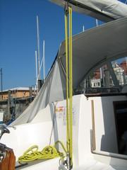 Flaschenzug - Flaschenzug, Segelboot, Kraft, Rolle, Seil