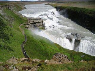 Island - Land zwischen Feuer und Eis - Island, Wasserfall, Canon, Schlucht, Fluss