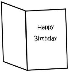 Geburtstagskarte Birthday Card - Karte, Geburtstag, birthday, Happy Birthday, Glückwunsch, Glückwünsche, gratulieren, English, schreiben, schicken, Zeichnung