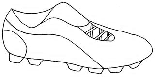 Fußballschuh - Schuh, Stollen, Nocken, Fußball, Sport, schießen, WM, EM, Sportbekleidung, Sportschuh
