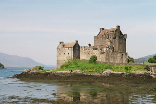 Eilean Donan Castle - Eilean Donan Castle, Burg, Festung, Gebäude, Drehort, Highlands, Highlander, Drehort, Film, Schottland