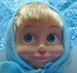 Mascha_Bildnis_Snegurotschka - Mädchen, russisch, Russland, Trickfilm, weihnachtliches Kostüm, Snegurtotschka, Bildnis