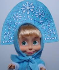 Mascha_Snegurotschka - Mascha, Puppe, russisch, Russland, Trickfilm, Souvenir, Snegurotschka
