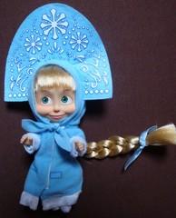 Mascha-Snegurotschka_ganz_#1 - Mascha, Snegurotschka, Puppe, Trickfilm, Souvenir, russisch, Russland