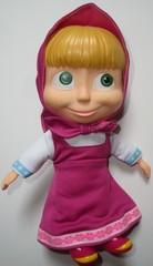 Mascha-traditionell_heller Hintergrund - Mascha, Puppe, Trickfilm, Souvenir, russisch, Russland