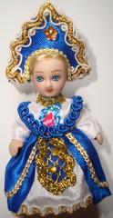 Russische Trachtenpuppe #4 - Tracht, Puppe, russisch, Russland, Geschichte, Kostüm