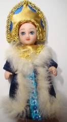Russische Trachtenpuppe #3 - Tracht, Puppe, russisch, Russland, Geschichte, Kostüm