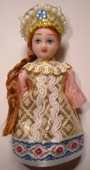 Russische Trachtenpuppe #1 - Tracht, Puppe, russisch, Russland, Geschichte, Kostüm
